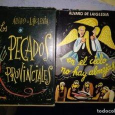 Relatos y Cuentos: ÁLVARO DE LA IGLESIA. Lote 196264502