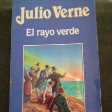 Relatos y Cuentos: EL RAYO VERDE, JULIO VERNE. Lote 201350212