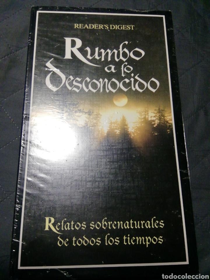 NUEVO EN EL PLÁSTICO! RUMBO A LO DESCONOCIDO. RELATOS SOBRENATURALES DE TODOS LOS TIEMPOS (Libros Nuevos - Literatura - Relatos y Cuentos)