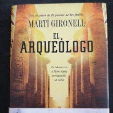 Relatos y Cuentos: EL ARQUEÓLOGO, MARTI GIRONELL. Lote 202010478