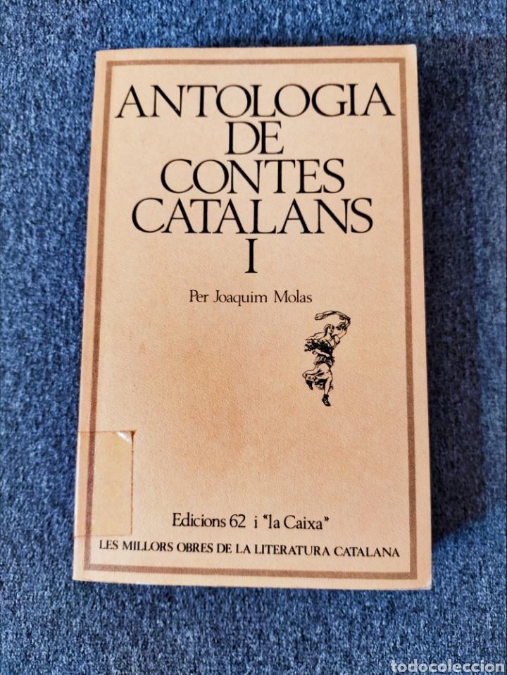 ANTOLOGIA DE CONTES CATALANS - JOAQUIM MOLAS (Libros Nuevos - Literatura - Relatos y Cuentos)