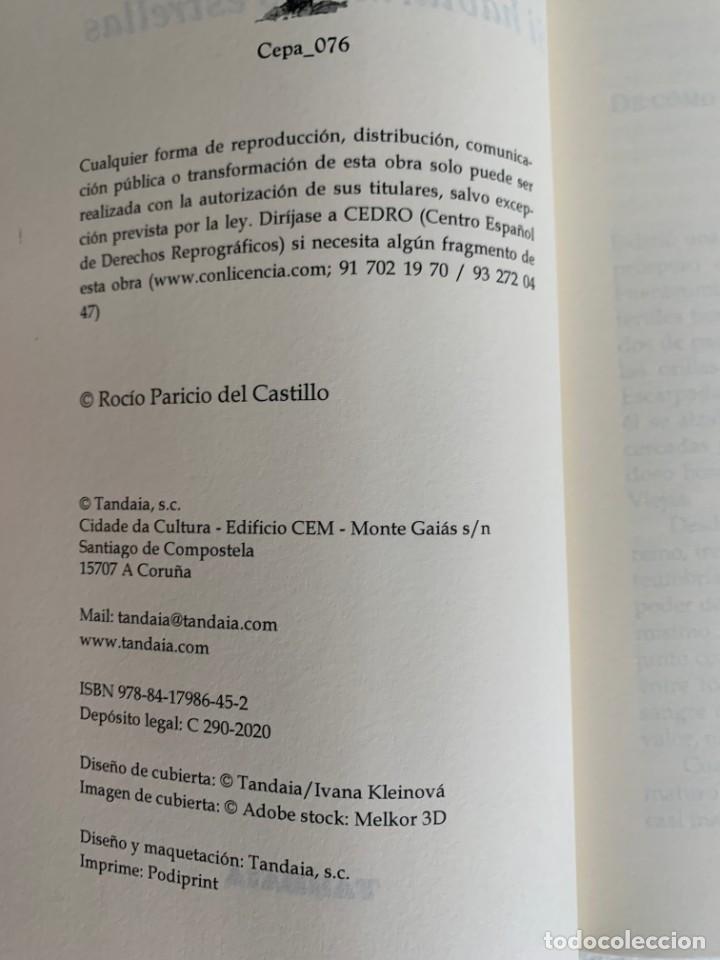 Relatos y Cuentos: Si hablaran las estrellas. Rocío Paricio del Castillo. Libro nuevo. - Foto 3 - 206549226