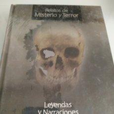 Relatos y Cuentos: LEYENDAS Y NARRACIONES GUSTAVO ADOLFO BÉCQUER. Lote 210635491