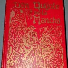Relatos y Cuentos: LIBRO DON QUIJOTE DE LA MANCHA CON ILUSTRACIONES DE GUSTAVO DORE GRABADAS POR PAISAN.. Lote 211911595