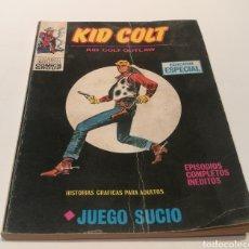 Relatos y Cuentos: KID COLT , JUEGO SUCIO ,EDICIÓN ESPECIAL , HISTORIAS GRÁFICAS PARA ADULTOS. Lote 213120647