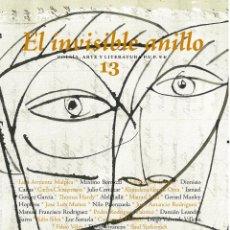Relatos y Cuentos: EL INVISIBLE ANILLO Nº13 - REVISTA DE LITERATURA ILUSTRADA Y DE CREACIÓN. Lote 222323156