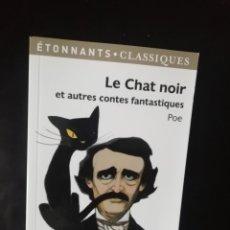 Relatos y Cuentos: LE CHAT NOIR, POE. Lote 224631353