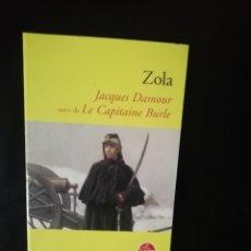 Relatos y Cuentos: JACQUES DAMOUR, ZOLA. Lote 224633952