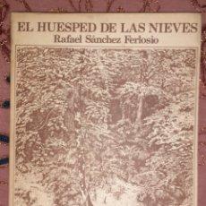Relatos y Cuentos: EL HUESPED DE LAS NIEVES. Lote 228718380