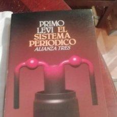 Relatos y Cuentos: EL SISTEMA PERIÓDICO DE PRIMO LEVY. Lote 230811585