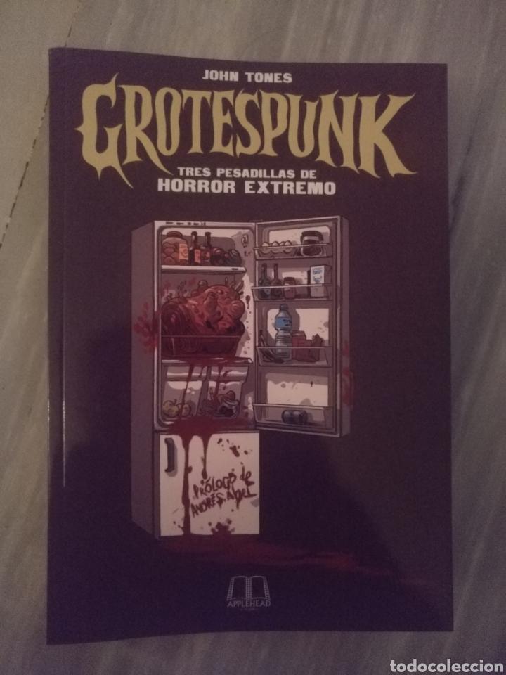 GROTESPUNK (Libros Nuevos - Literatura - Relatos y Cuentos)