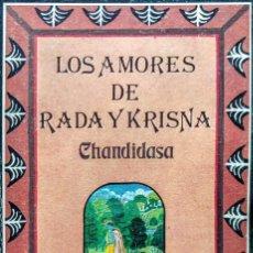 Relatos y Cuentos: LOS AMORES DE RADA Y KRISNA. CHANDIDASA. Lote 235275445