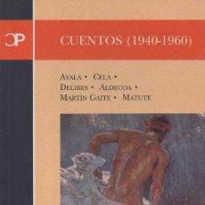 Relatos y Cuentos: CUENTOS (1940-1960). CASTALIA. 2000. NUEVO.. Lote 235303190