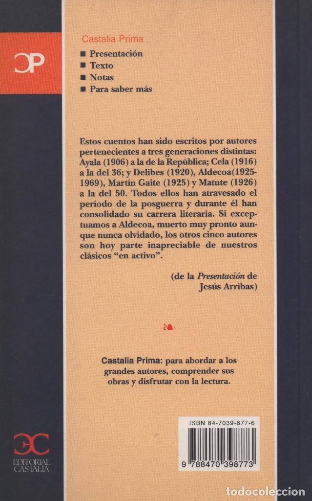 Relatos y Cuentos: Cuentos (1940-1960). Castalia. 2000. NUEVO. - Foto 2 - 235303190