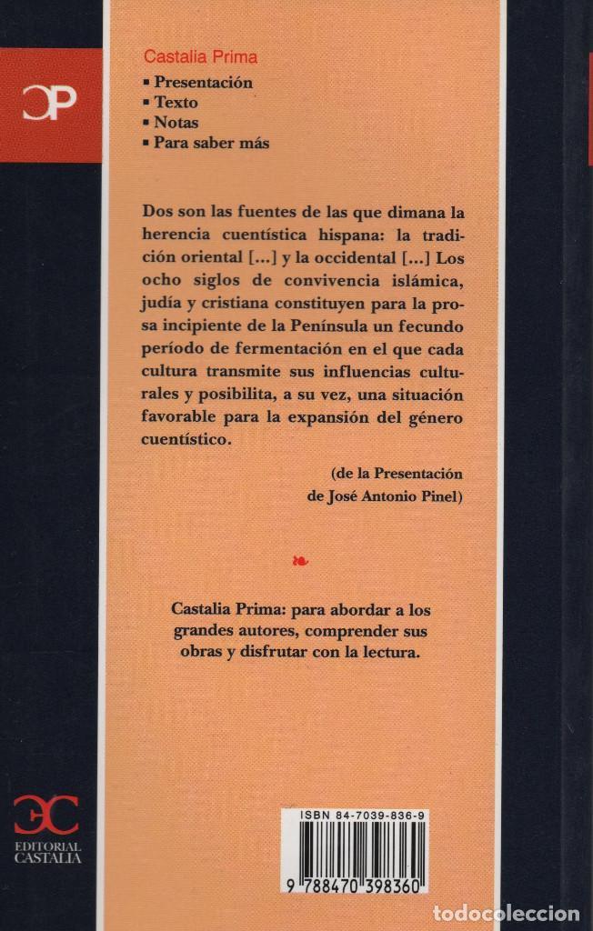 Relatos y Cuentos: Cuentos de la Edad Media. Castalia. 2003. NUEVO. - Foto 2 - 235305585