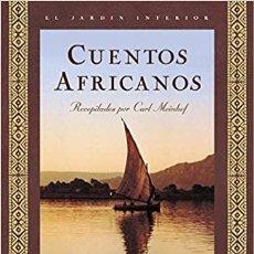 Relatos y Cuentos: CUENTOS AFRICANOS. RECOPILADOS POR CARL MEINHOF. EL ALMA DE LAS ESTRELLAS. OCEANO AMBAR.. Lote 235592295