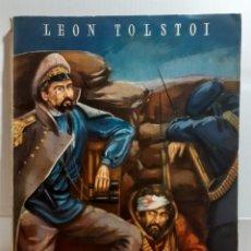 Relatos y Cuentos: LIBRO NOVELA SEBASTOPOL LEON TOLSTOI. Lote 236379070