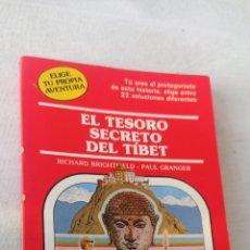 Relatos y Cuentos: ELIGE TU PROPIA AVENTURA EL SECRETO DEL TIBET N' 36 TIMUN MAS. Lote 243838610