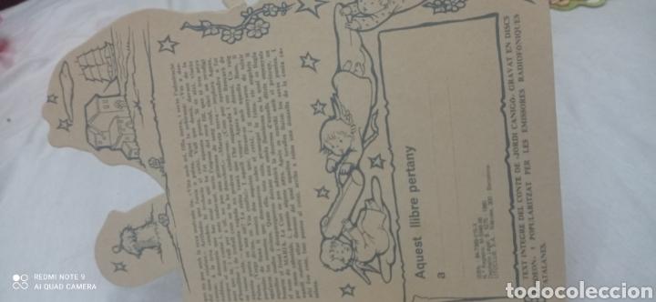 Relatos y Cuentos: LA PUNTAIRE DE JORDI CANIGO. TROQUELADO. ILUSTRACIONS CONSTANZA. CATALA - Foto 3 - 243895505