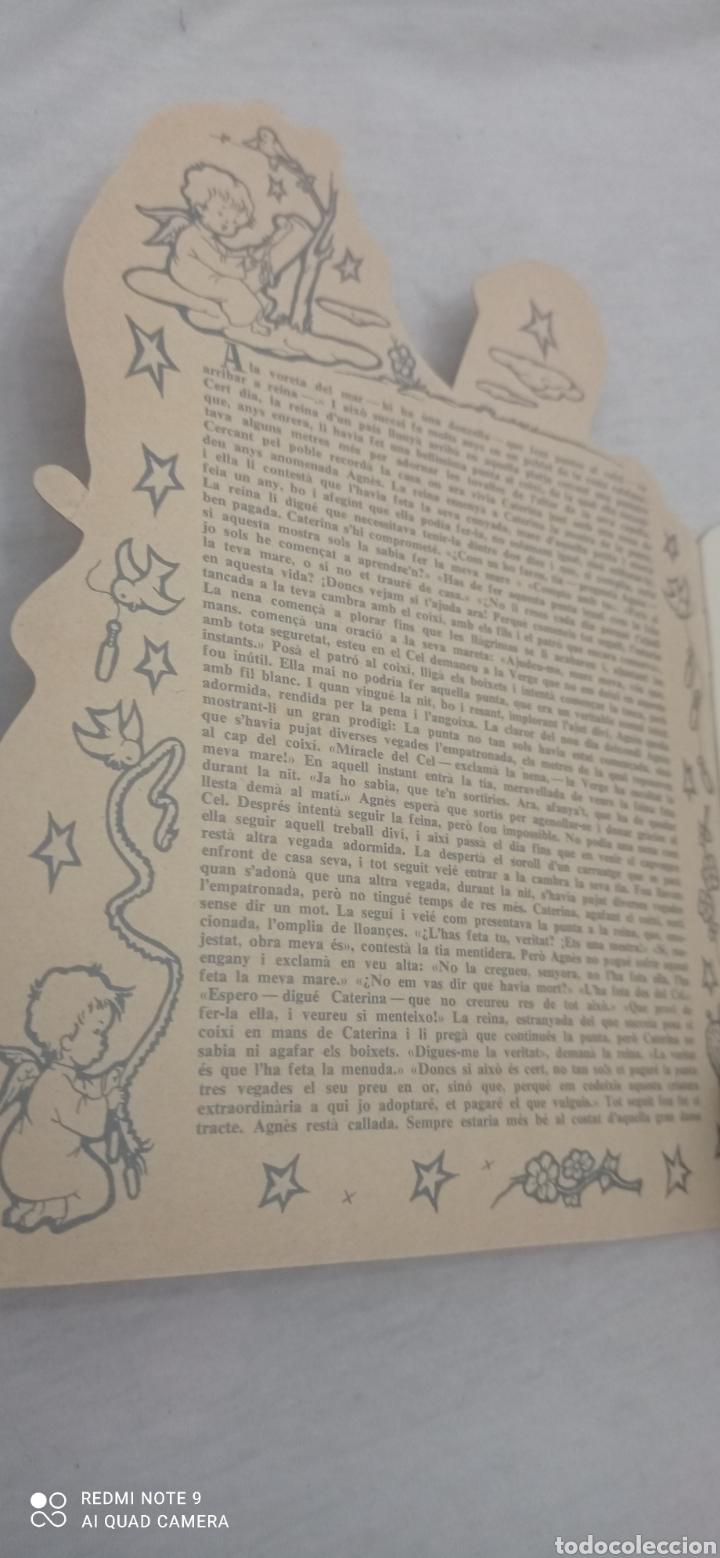 Relatos y Cuentos: LA PUNTAIRE DE JORDI CANIGO. TROQUELADO. ILUSTRACIONS CONSTANZA. CATALA - Foto 4 - 243895505