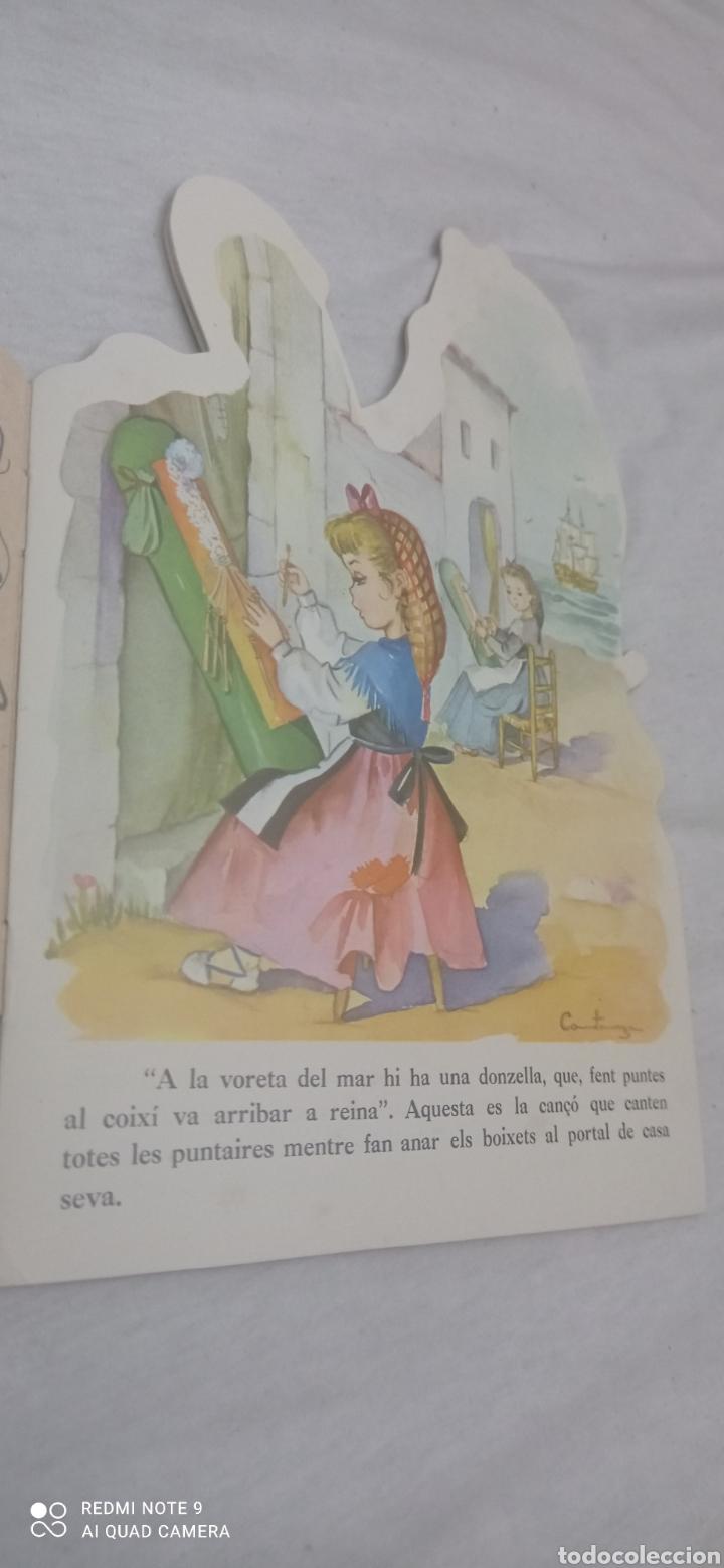 Relatos y Cuentos: LA PUNTAIRE DE JORDI CANIGO. TROQUELADO. ILUSTRACIONS CONSTANZA. CATALA - Foto 5 - 243895505