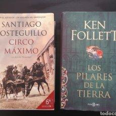 Relatos y Cuentos: LOS PILARES DE LA TIERRA Y CICO MÁXIMO.. Lote 252910475