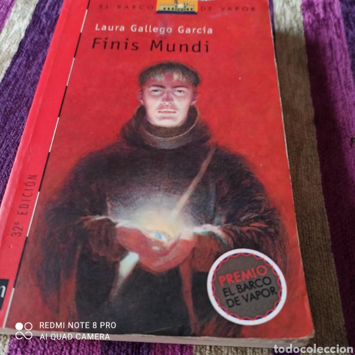 FINIS MUNDI,LAURA GÁLLEGO. (Libros Nuevos - Literatura - Relatos y Cuentos)