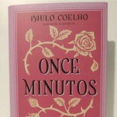 Relatos y Cuentos: ONCE MINUTOS.BIBLIOTECA PAULO COELHO. PLANETA. TAPA DURA. Lote 257311615