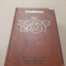Relatos y Cuentos: EL LEGADO DEL DROW ELFO OSCURO COLECCIONISTAS. Lote 257434460
