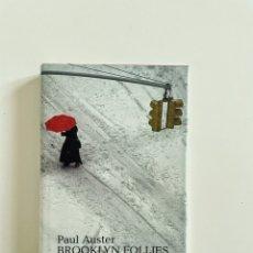 Relatos y Cuentos: BROOKLYN FOLLIES, PAUL AUSTER. Lote 257449130