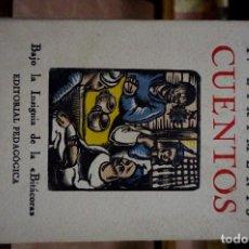 Relatos y Cuentos: EIXIMENIS F. CUENTOS.BAJO LA INSIGNIA DE LA BITACORA.EDITORIAL PEDAGOGICA.. Lote 257761445