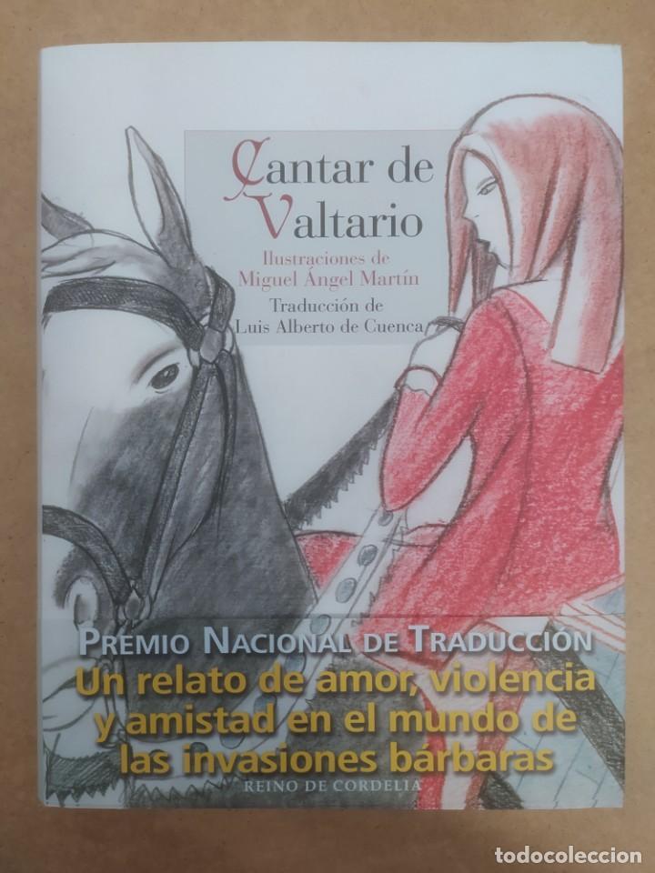 CANTAR DE VALTARIO. ILUSTRACIONES DE MIGUEL ÁNGEL MARTÍN. -NUEVO (Libros Nuevos - Literatura - Relatos y Cuentos)