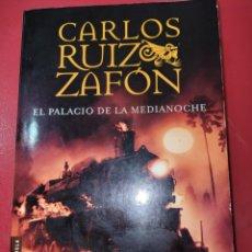 Livros: EL PALACIO DE MEDIANOCHE CARLOS RUIZ ZAFÓN. Lote 266282673
