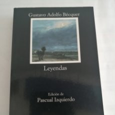 Relatos y Cuentos: LEYENDAS. GUSTAVO ADOLFO BEQUER. Lote 267336889