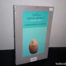 Relatos y Cuentos: 24- ESPERANDO A GODOT - SAMUEL BECKETT. Lote 268576914