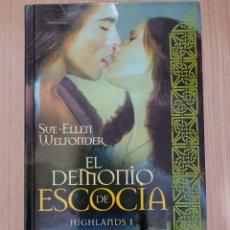 Relatos y Cuentos: EL DEMONIO DE ESCOCIA. SUE-ELLEN WELFONDER. Lote 269400643