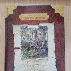 Relatos y Cuentos: LOS TIGRES DE MALASIA EMILIO SALGARI. Lote 269404483