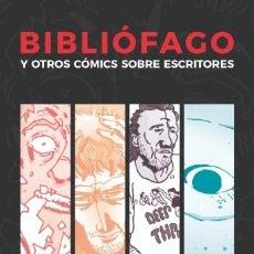 Relatos y Cuentos: BIBLIÓFAGO - AUSTER - BUKOWSKI - BRADBURY - SALINGER - EDICIÓN LIMITADA 80/101 - DEDICADO. Lote 269939463
