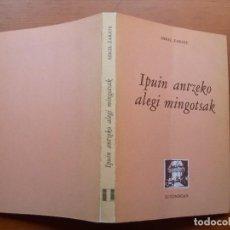 Relatos y Cuentos: IPUIN ANTZEKO ALEGI MINGOTSAK / MIKEL ZARATE / EUSKERA / FABULAS. Lote 271456743