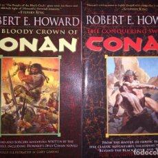 Relatos y Cuentos: THE BLOODY CROWN OF CONAN Y THE CONQUERING SWORD OF CONAN. Lote 276694778