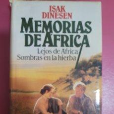 Relatos y Cuentos: MEMORIAS DE ÁFRICA. ISAK DINESEN. Lote 277098763