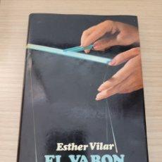 Relatos y Cuentos: EL VARON DOMADO ESTHER VILAR. Lote 277160363