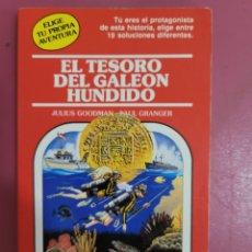 Relatos y Cuentos: EL TESORO DEL GALEÓN HUNDIDO. Lote 277288473