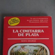 Relatos y Cuentos: LA CIMITARRA DE PLATA. Lote 277288988