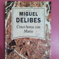 Relatos y Cuentos: CINCO HORAS CON MARIO MIGUEL DELIBES. Lote 277302598