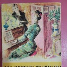 Relatos y Cuentos: LOS CÁRMENES DE GRANADA A.PALACIO VALDES. Lote 277302848