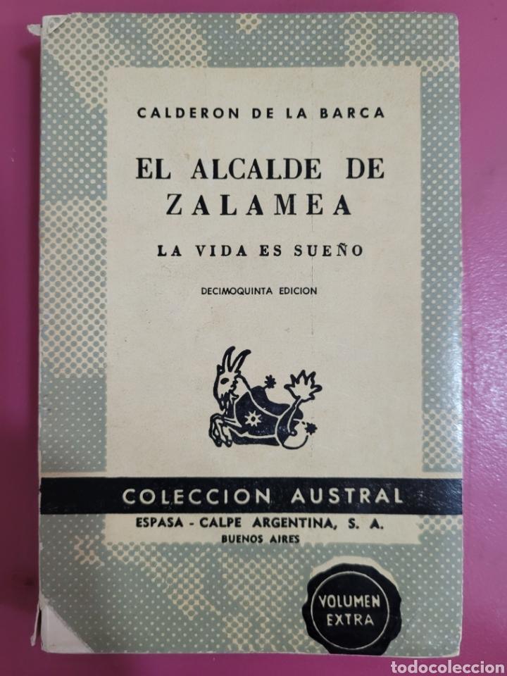 EL ALCALDE DE ZALAMEA CALDERÓN DE LA BARCA (Libros Nuevos - Literatura - Relatos y Cuentos)