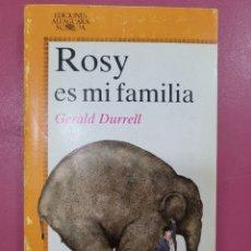 Relatos y Cuentos: ROXY ES MI FAMILIA GERALD DURRELL. Lote 278640098