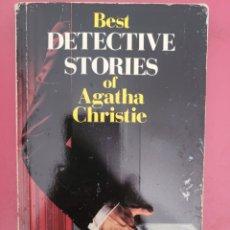 Relatos y Cuentos: BEST BETECTIVE STORIES OF AGATHA CRISTIE. Lote 278762758