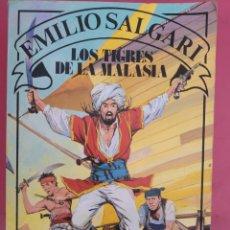 Relatos y Cuentos: LOS TIGRES DE MALASIA EMILIO SALGARI. Lote 278762858
